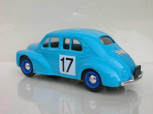 4cv tour de France auto 1954