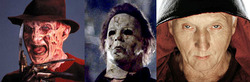 freddy krueger - mike myers - jigsaw