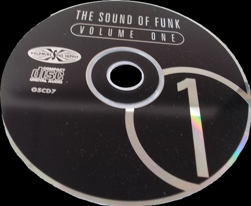 "Various Artists : CD "" The Sound Of Funk 1 "" Goldmine Soul Supply ‎Records GSCD 7 [ UK ]"