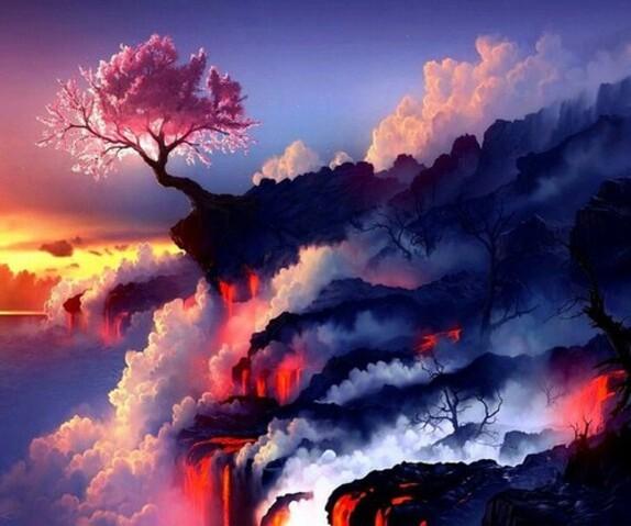 Volcan céleste