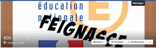 Groupe  des feignasses de l'Education Nationale