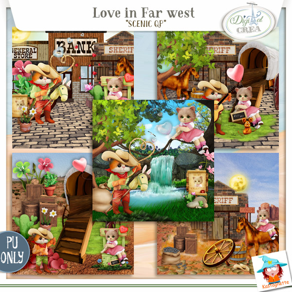 LOVE IN FAR WEST by KASTAGNETTE