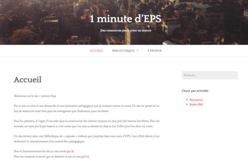 1 minute d'EPS