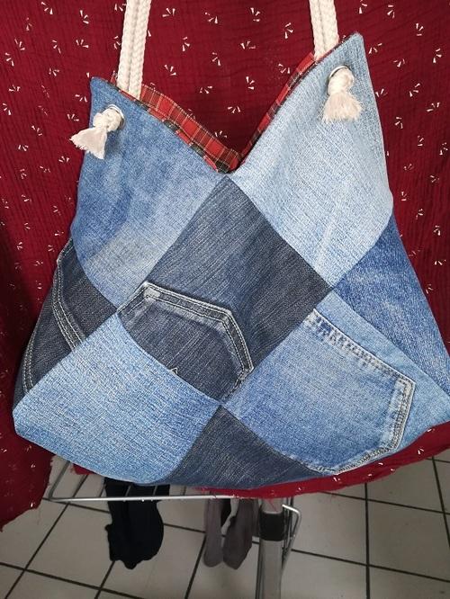 Recyclage pour un sac