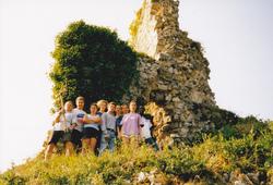 1998 : Chantier de jeunes au château