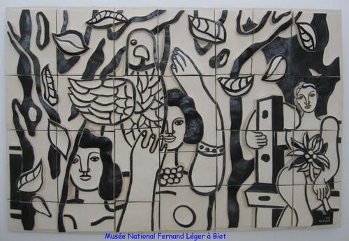 Fernand Léger à Biot
