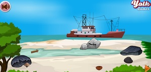 Jouer à Yolk Island rescue ship escape