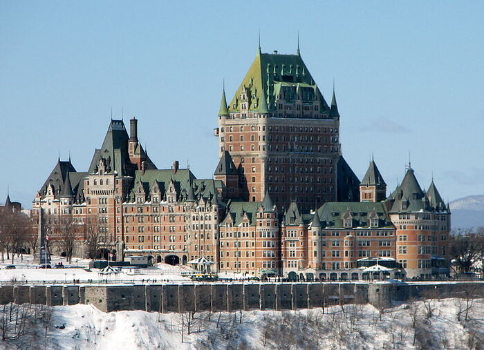 château à Québec