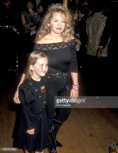 Charlène Tilton et sa fille Cherish