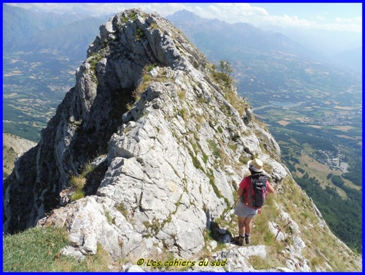 Devoluy, 3 pics au dessus de Chaudun