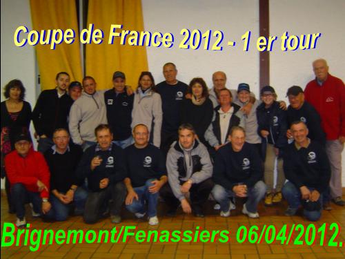 COUPE DE FRANCE 2013 / 2014.