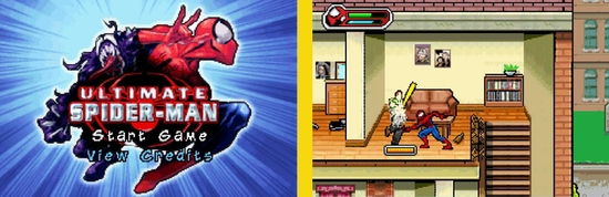 Ultimate Spiderman z