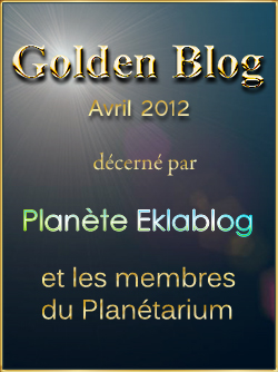 Les Golden Blogs d'avril