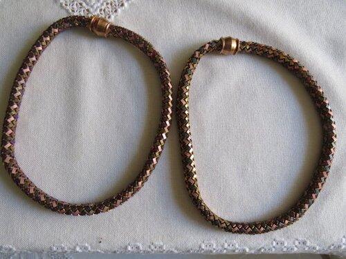 mes colliers en perle