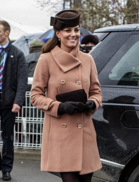 Kate aux courses
