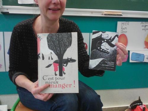 Intervention de Françoise Rogier dans ma classe