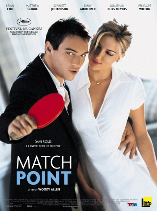 MATCH POINT BOX OFFICE FRANCE 2005