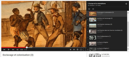 L'esclavage et La colonisation