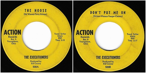 THE EXECUTIONERS - COMPLETE SINGLES