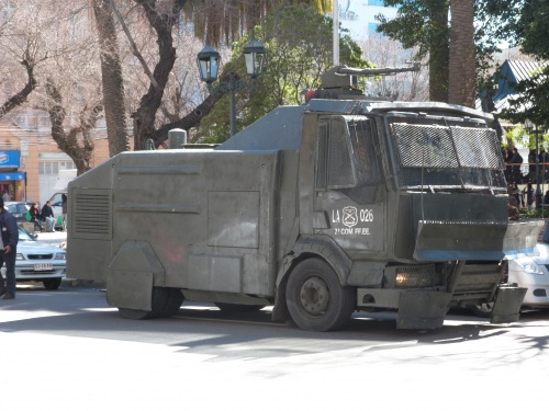 les vehicules chiliens