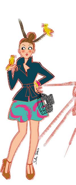 Tubes femmes illustrées