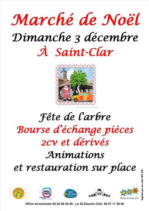 03 Décembre 2017 Fête de l'Arbre et le Marché de Noël à Saint-Clar. 32