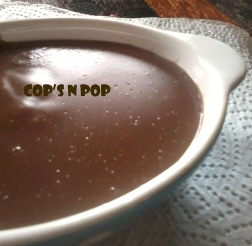 Crème dessert façon Danette à l'ovomaltine