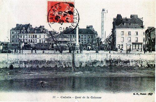 Le quai de la Colonne