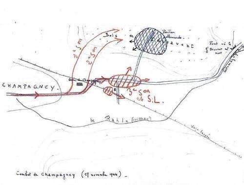 Etape n° 23 - L'offensive sur la Trouée de Belfort commence à Champagney