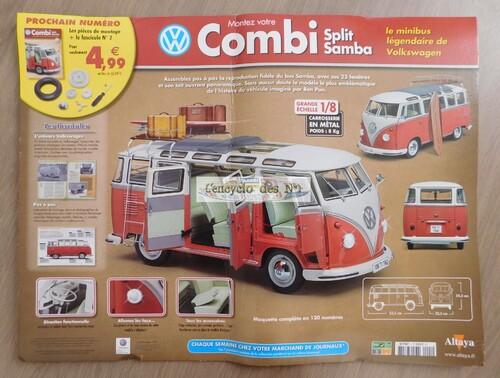 N° 1 Montez votre Combi Split Samba Volkswagen - Lancement