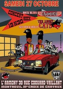 Concert Angry Cats et Crashbirds