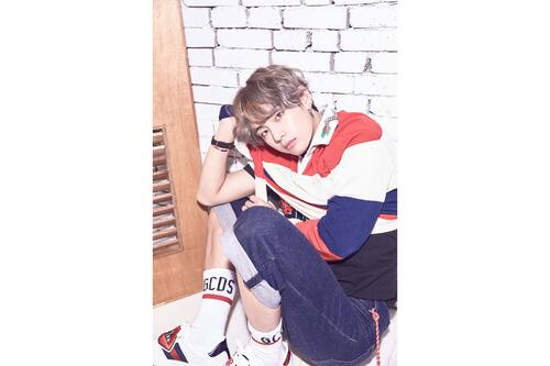 "BTS Love Yourself photo de la ""V"" version"