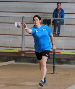 Associée à Mathilde Escoffier, Aurore Goulard a remporté le relais avant de s'imposer en simple