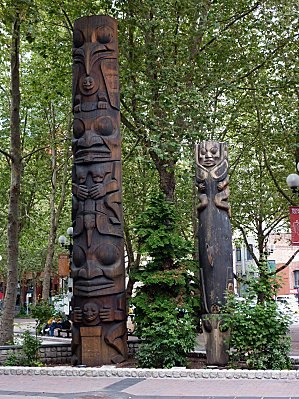 Jour 30 Seattle Pioneer Square Totem 2
