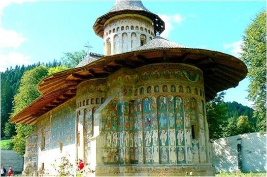 4-Monastère de Sucevita en Roumanie dans le duché de Buco