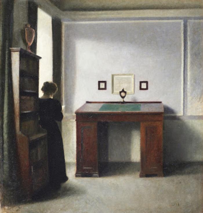 * À Vous de Voir * Vilhelm Hammershøi, retour sur ce peintre énigmatique