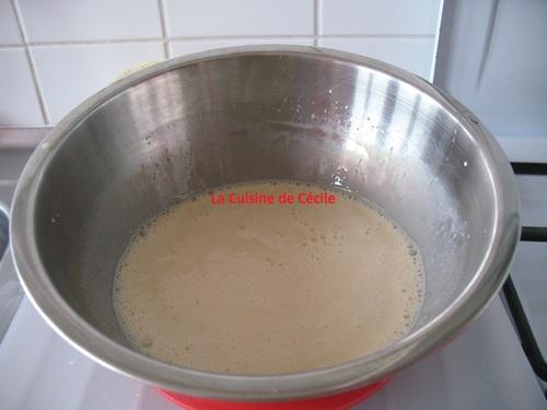Terrine de Pain Perdu et sa sauce caramel au beurre salé