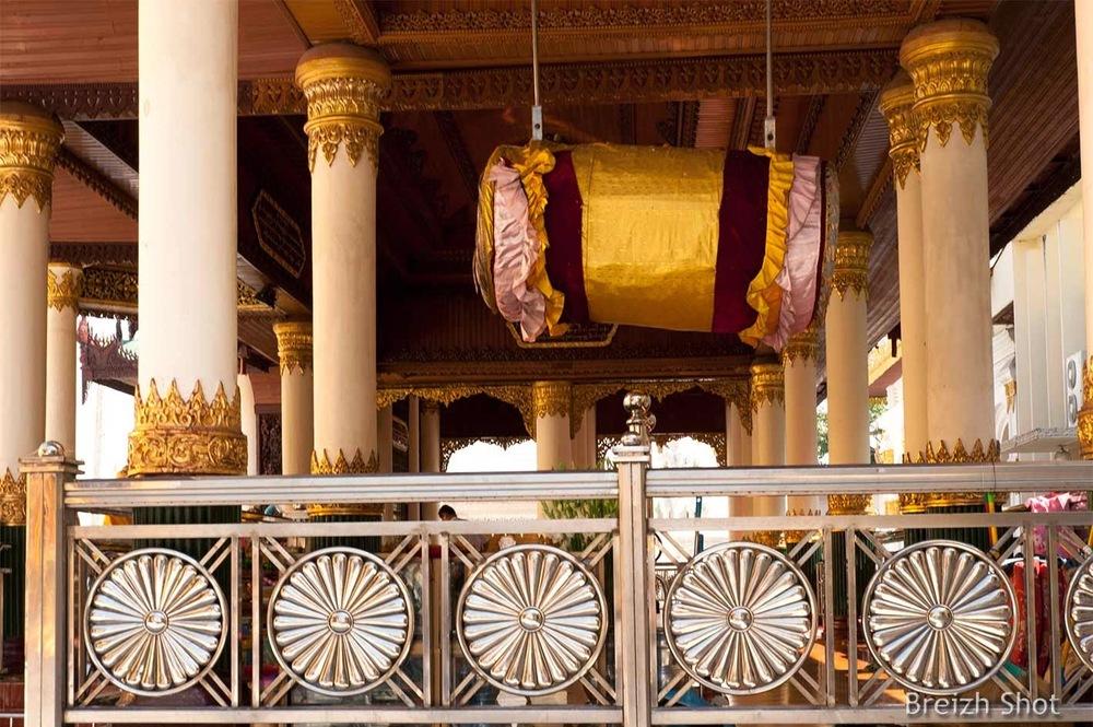 Shwedagon -  Roues de vie et gong