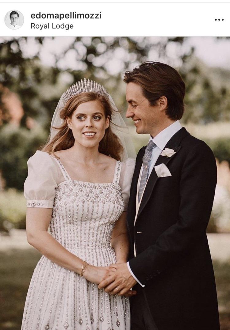 Mariage de Beatrice d'York et Edoardo Mapelli