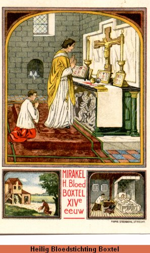 Miracle Eucharistique Hollande Boxtel-Hoogstraten 1380