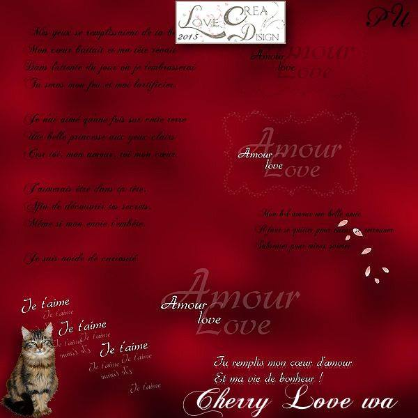 Cherry Love by Love Créa Design