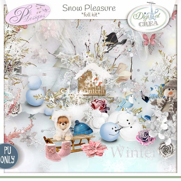 """Snow pleasure"" by Pli Designs"