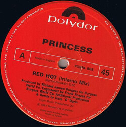 Princess - Red Hot (Inferno Mix)
