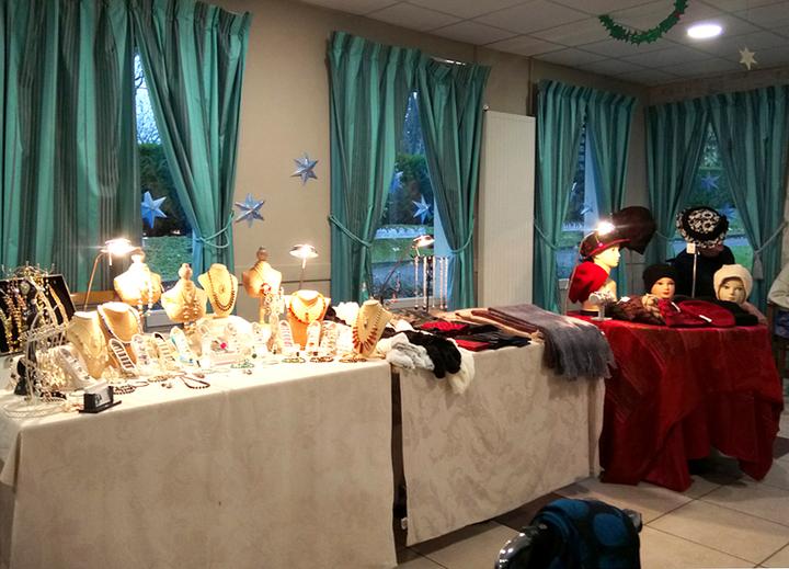 Marché de Noël en résidence pour personnes âgées