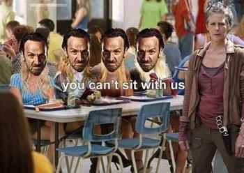 The Walking Dead season 4 Memes 3