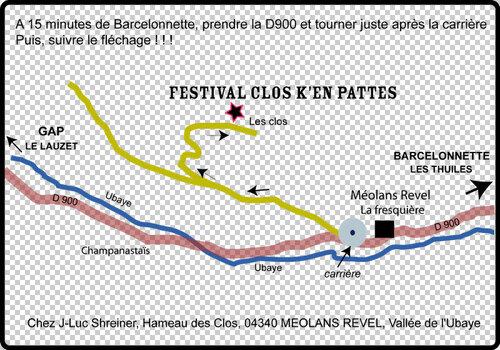 20 Juillet, Festival Clos K'en Pattes, Méolans Revel