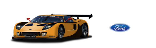 Team Sunred Ford GT GT1 Ford Cammer 5.0 L V8