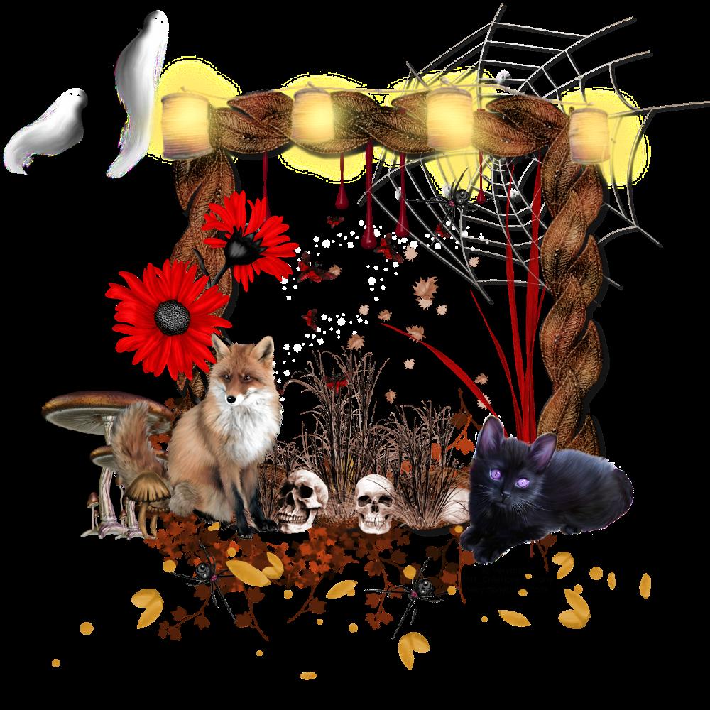 Cluster Vide Halloween