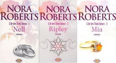 L'île des trois soeurs de Nora Roberts