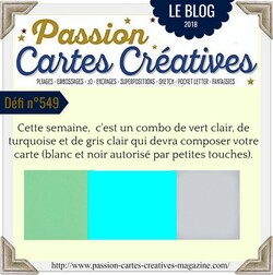 Passion Cartes Créatives#550 !
